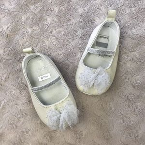Carter's Baby Girl Dress Shoes Cream Off White